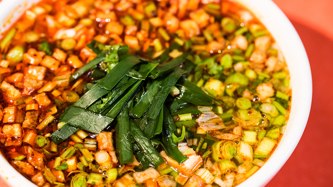 早餐中国2·宁夏蒿子面