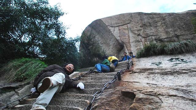 中国史上最难爬的楼梯