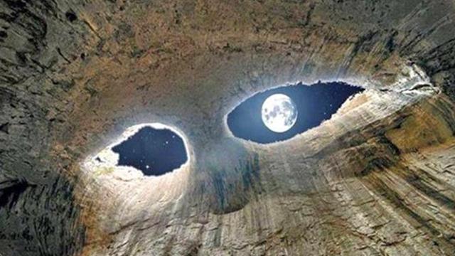 世界上最诡异的洞穴!
