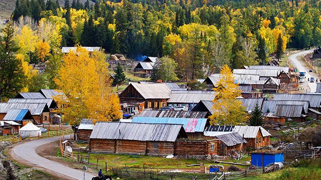 号称西北第一村的最美村庄