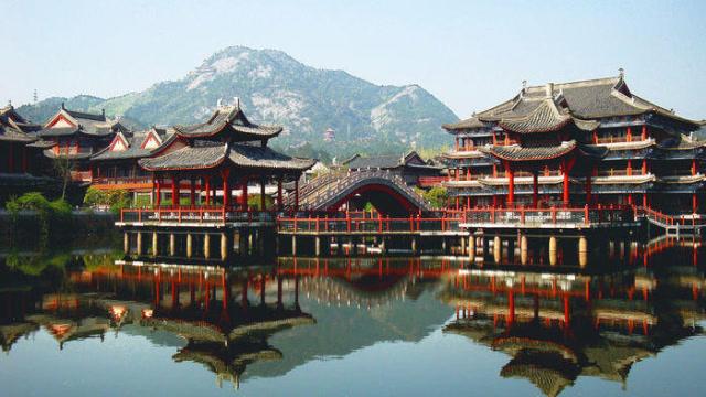 中国最牛山寨版景区