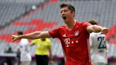 莱万创德甲外籍球员单季进球纪录 拜仁主场3-1完胜弗赖堡图标