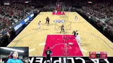 """【录像】NBA2KOL2线上战""""疫""""赛半决赛第一日第1场图标"""