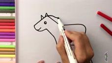 多多学画画:马