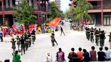 青州悠然水兵舞表演