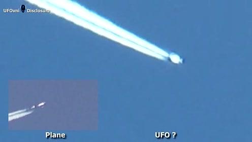 飞碟or飞机?这不可思议的UFO目击视频的图片