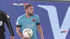 """足球经典战""""疫"""" 2015年世俱杯半决赛:巴塞罗那vs广州恒大 上半场录像"""