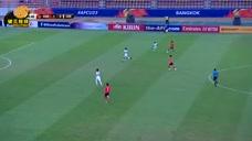 U23亚锦赛1/4决赛,李东炅任意球读秒绝杀,韩国2-1淘汰约旦进四强