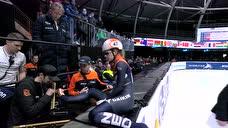 女子500米荷兰本土选手包揽金银 曲春雨第四录像