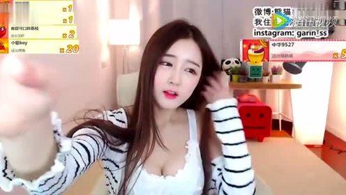 【韩国美女主播】好白好大 美女朴佳琳性感热舞龙珠直播视频 高清