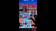 超高倍数放大看英特尔CPU处理器的内部设计图
