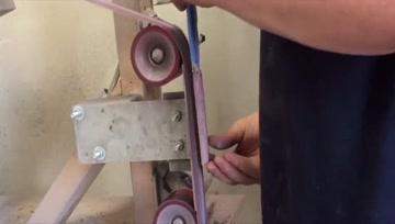冷兵器:老哥用手工锻造刀具全过程