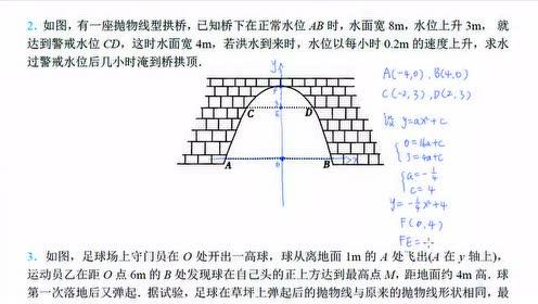 新人教版九年级数学上册22.3 实际问题与二次函数