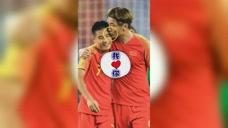 武磊最像梅西的一粒进球,杨旭亲吻里皮点赞图标