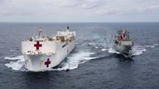 35艘医院船从哪变出来的?美国一共只有2艘,其中1艘还趴在港口