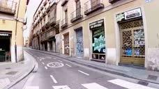 街拍疫情下的西班牙,全民宅家不出门,城市街头异常安静