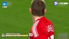 奥雷里奥出其不意的任意球突然射门 为利物浦队追平比分 双方4比4图标