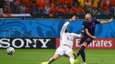 罗本荷兰国家队进球集锦,招牌内切就是防不住图标