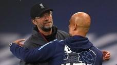 英超曼城对阵利物浦比赛集锦,新老冠军对决一边倒,瓜迪奥拉完胜克洛普!图标