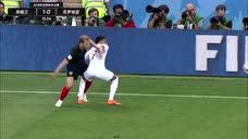 """足球经典战""""疫"""":2018世界杯半决赛 英格兰vs克罗地亚 上半场录像图标"""