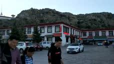 桂平人骑摩托期西藏 布达拉宫