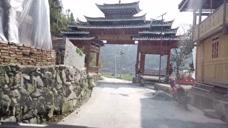 行驶在贵州农村,原生态的村寨很淳朴,一个美好的地方
