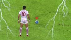 百步穿杨,足球史上最经典的任意球,每个都像传说一样的存在