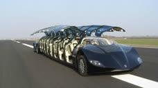 史上最奢侈的公交车!坐着2000万的布加迪上下班