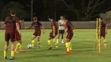 中国国奥男足:对垒乌兹别克斯坦,背水一战全力争胜