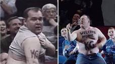 NBA最感人的镜头之一,铁杆球迷用12年青春追梦,每次看都会感动流泪!