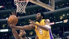NBA精彩1V5过人技巧 科比空中极限滑翔拉杆欧文陀螺转戏耍马刺全队