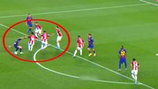 花样百出!西甲对手横向叠罗汉防梅西,控球娴熟吸引5人巴萨队友成观众头像