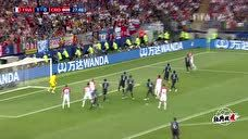 【进球】佩里西奇停球射门飞入球门右下角 克罗地亚扳平比分图标