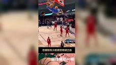 篮球精彩一瞬:昔日蜂王宝刀不老!保罗全明星赛空接暴扣