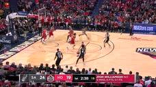 FIBA战神不和你闹 米尔斯轻松摆脱弧顶甩狙命中