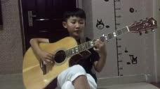 邹城这小孩弹吉他666