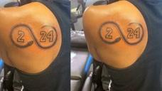 太心疼!科比去世第32天,瓦妮莎感谢科比姐姐新纹身,用行动击破争产谣言