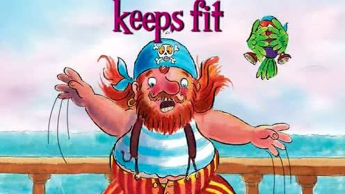 Pirate Pete keeps fit