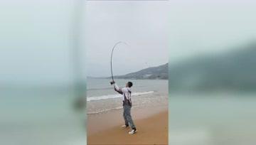 光威远投海竿,手海两用钓鱼优选