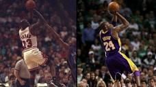 5佳榜单:NBA和乔丹经典动作相似的五大瞬间,致敬飞人传承经典图标