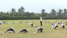 天津天海:新体能教练赛尔索上线,训练强度高,队员碰床就要睡