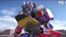 《变形金刚5 最后的骑士》,擎天柱VS大黄蜂