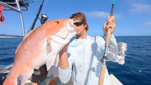 刺激的海钓,全是大货频频出水……