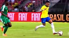 内马尔的绝妙技术与精彩进球 和他的颜值一样能打图标