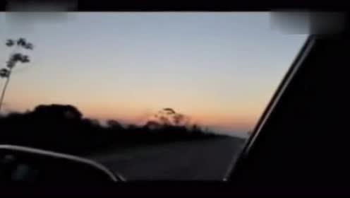 实拍巨大火球UFO惊现墨西哥天空的图片