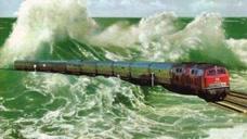 中国建造出渡海火车,全长113公里,不得不感叹中国真厉害