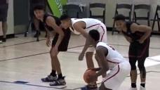 美国篮球比赛才能看到的最致命压哨绝杀,这还只是个孩子啊!