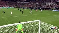 冉冉升起的新星 姆巴佩射门球钻入球门左下角图标
