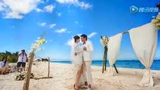陆毅鲍蕾庆结婚9周年再拍婚纱照 贝儿当小花童