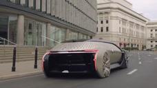 名叫EZ的高科技跑车,雷诺设计,只为富豪吃饭接送!富人黑科技